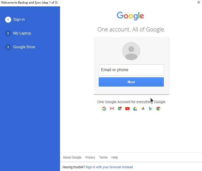 add google drive to file explorer in windows 10