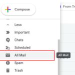 How to find archived email in Gmail?
