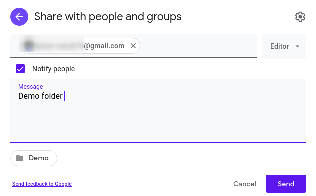 change owner of Google Drive folder