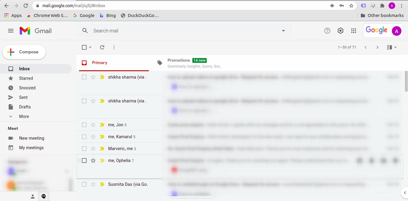 Steps to add Gmail app for Windows as a desktop app