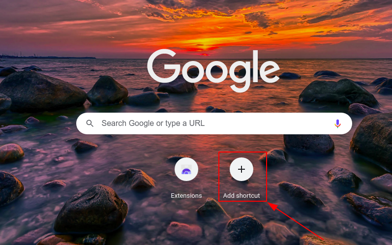 How to add thumbnails to Google Chrome homepage