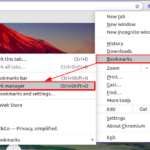 How to backup Chrome bookmarks