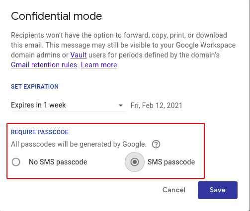 Steps to encrypt email in Gmail