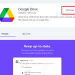 How to turn on Drive notifications on Google Chat
