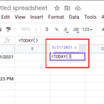 How to Insert Timestamp in Google Sheets