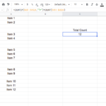 How to Count Cells If Not Blank Using COUNTIF function?